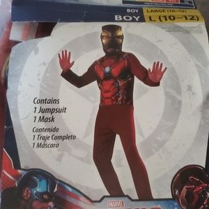 Rubie's Size Lg 10-12 Civil War Iron Man Costume